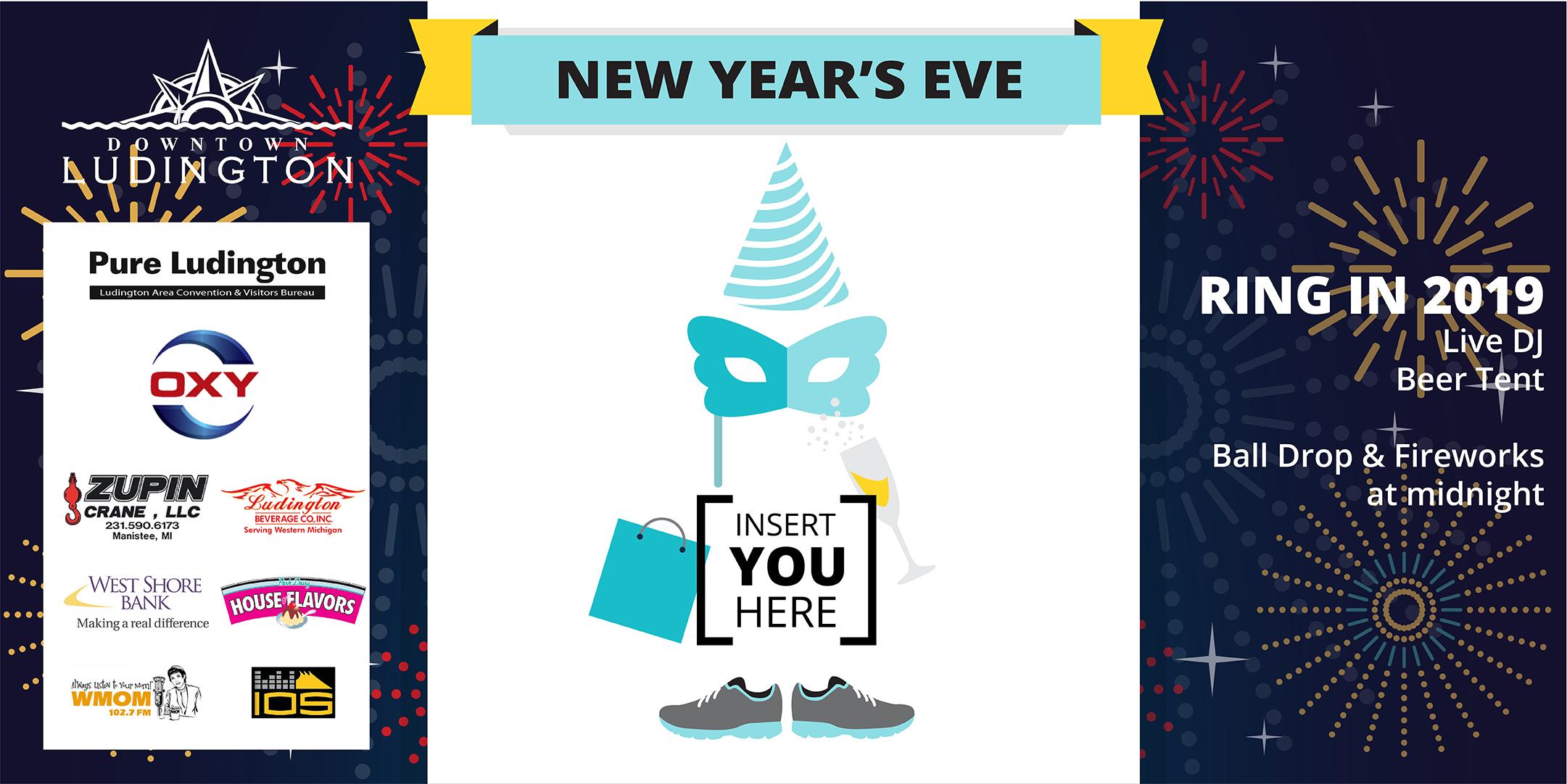 New Year\'s Eve Ball Drop – Downtown Ludington