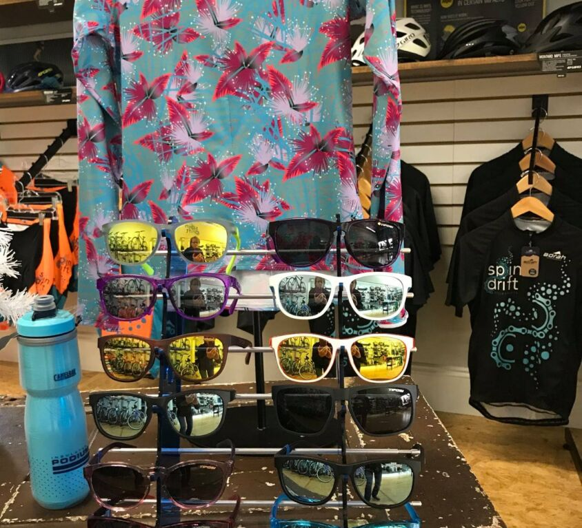 Sunglasses @ Spindrift Cyclesports