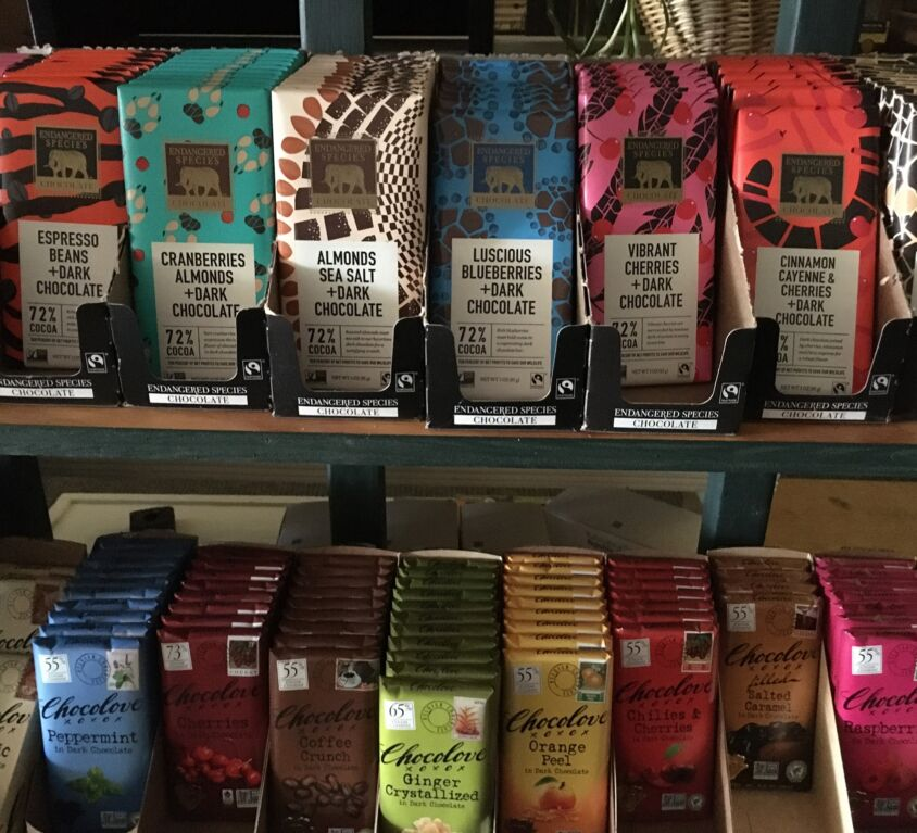 Chocolate @ Evergreen Natural Foods Market