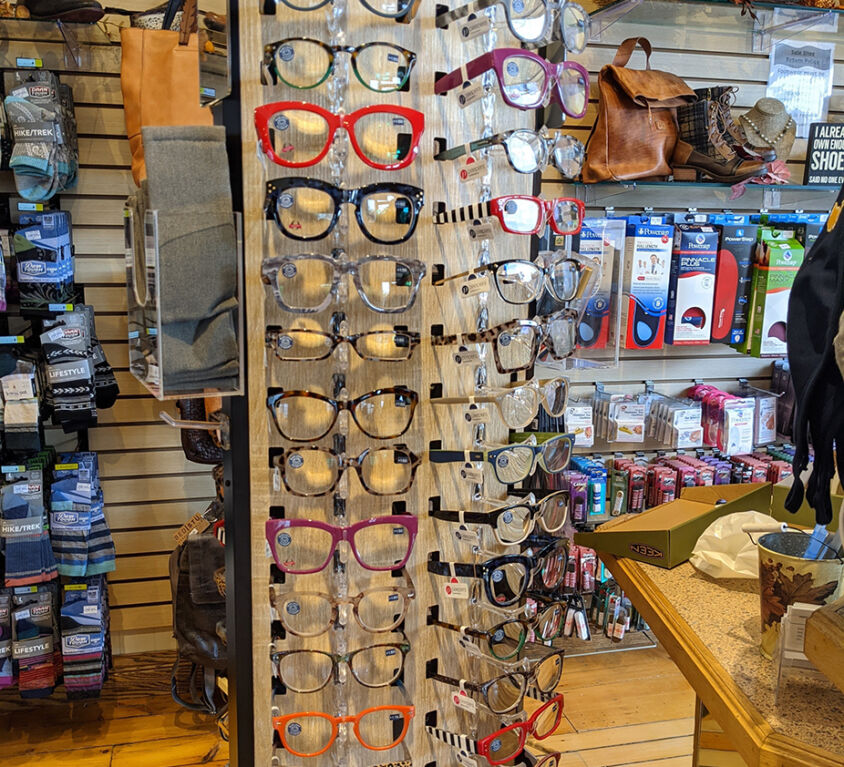 Reading Glasses @ Snyder's Shoes