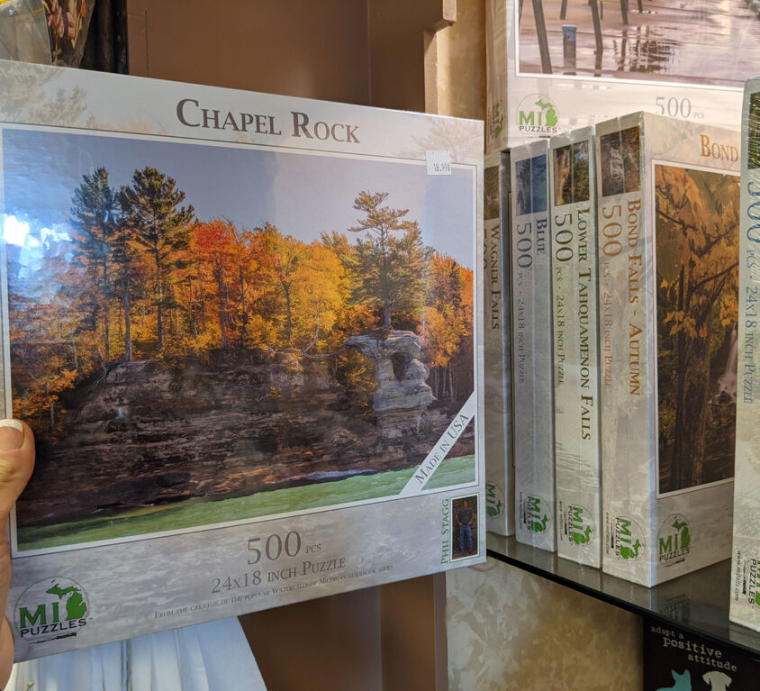Puzzles @ AGS Gift Shop